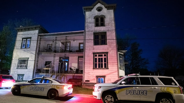 Le corps a été découvert dans un appartement de la rue du Collège à Lévis.