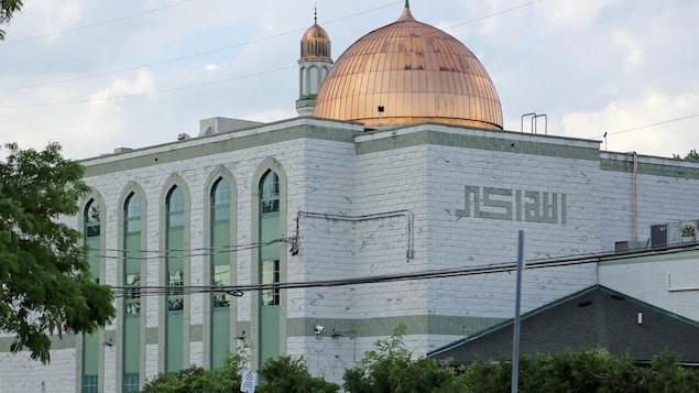 Une mosquée à Windsor, en Ontario.