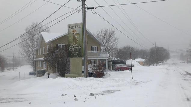 Le motel Blanche d'Haberville est situé à Saint-Jean-Port-Joli.