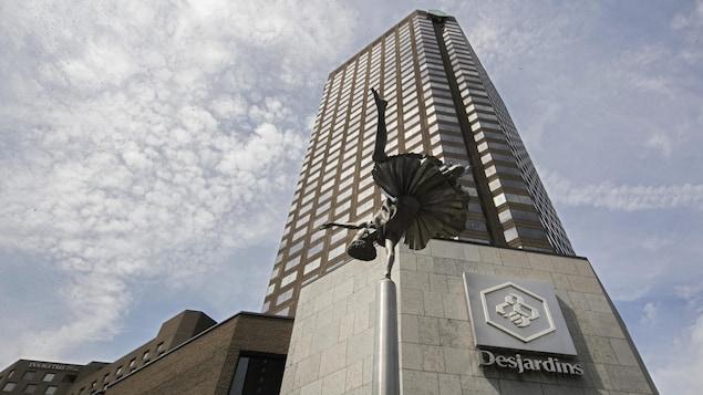 Le Complexe Desjardins, à Montréal.