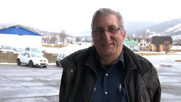 André Minville, directeur des travaux publics, Ville de Murdochville