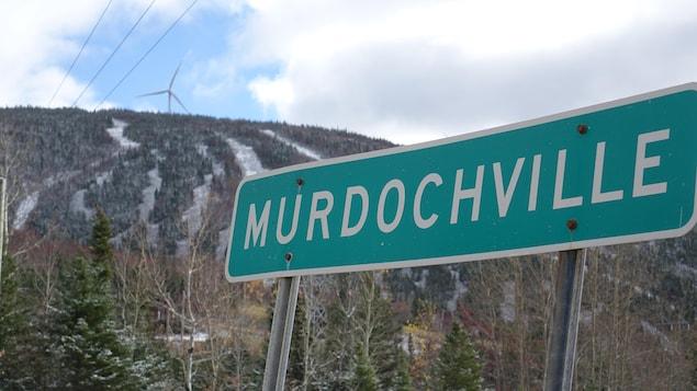 Murdochville, en plein cœur de la Gaspésie