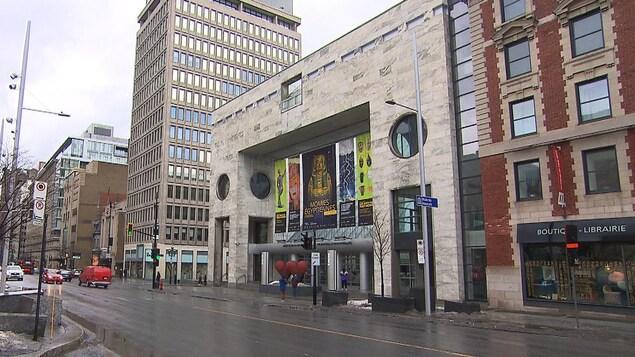 Façade du Musée des beaux-arts de Montréal.