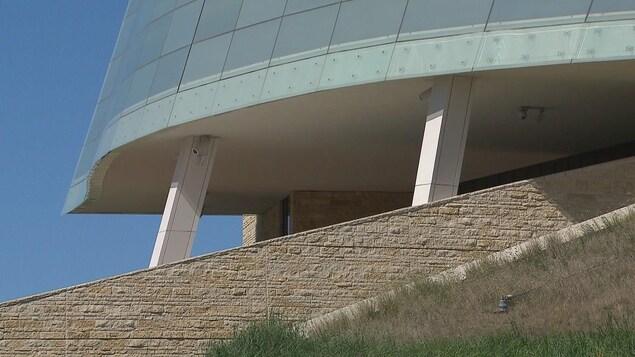 Une vue sur la structure du Musée.