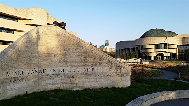 Le Musée canadien de l'histoire, à Gatineau (archives). Une oeuvre de l'architecte Douglas Cardinal.