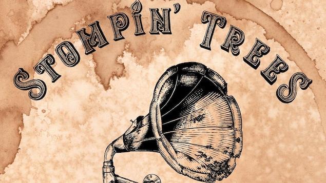Pochette du disque du groupe Stompin' Trees