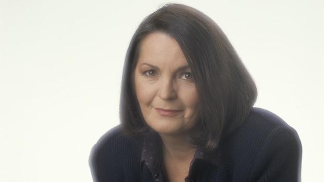 L'animatrice Myra Cree, en 1988.