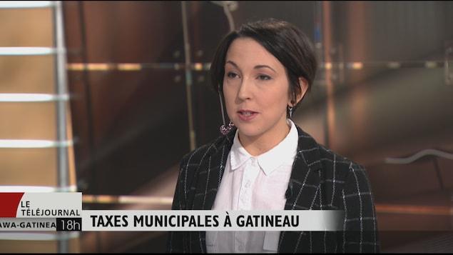 La conseillère municipale, Myriam Nadeau.
