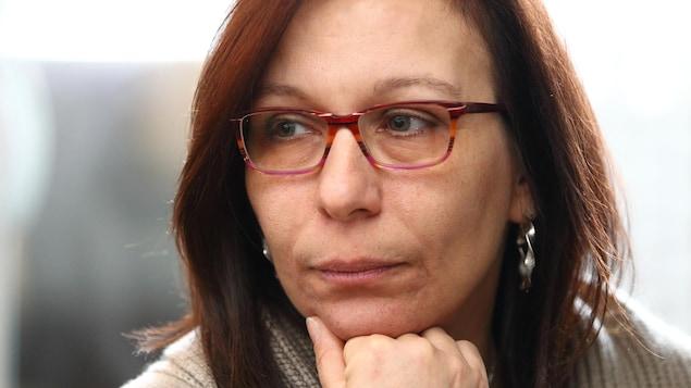 Portrait de Nancy Laporte, victime d'agressions sexuelles.