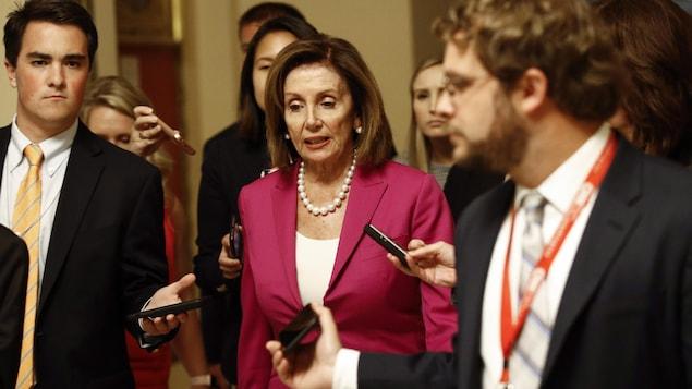 Nancy Pelosi, présidente de la Chambre des représentants