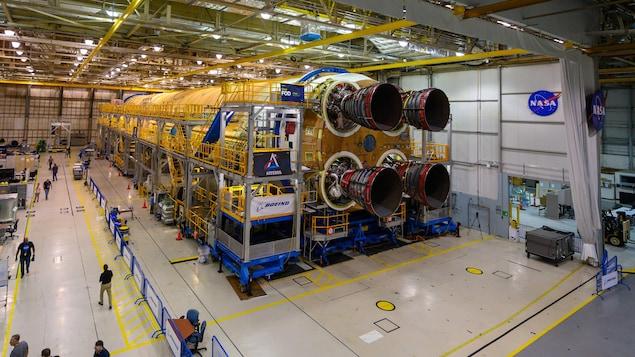 L'étage principal du Space Launch System (SLS).
