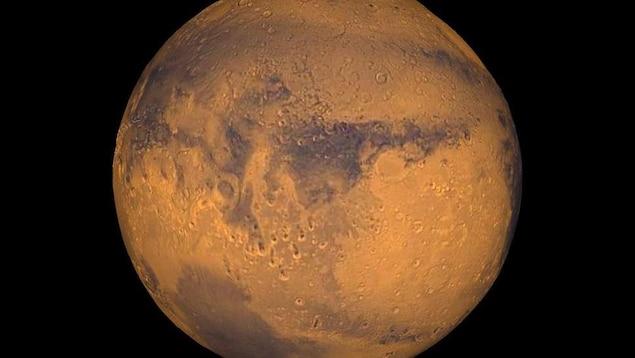 Photo de la planète Mars.