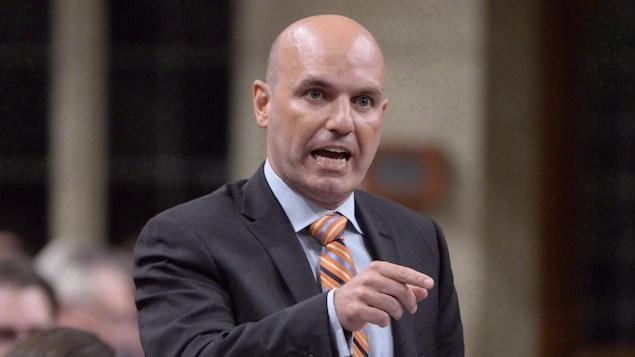 Le député néo-démocrate Nathan Cullen.
