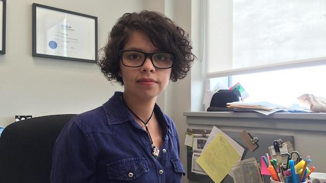 La directrice générale du Regroupement féministe du Nouveau-Brunswick, Nelly Dennene