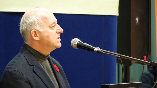Le conseiller de la Ville de Matane au poste no 3, Nelson Gagnon