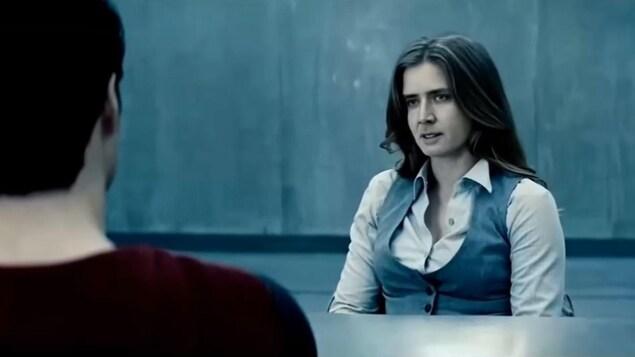 Le visage de Nicholas Cage a remplacé celui de l'actrice Amy Adams dans une séquence tirée du film «L'Homme d'acier».