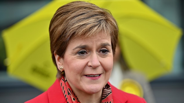 Portrait de Nicola Sturgeon.