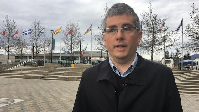 Nicolas Kenny, observateur politique et professeur à l'Université Simon Fraser