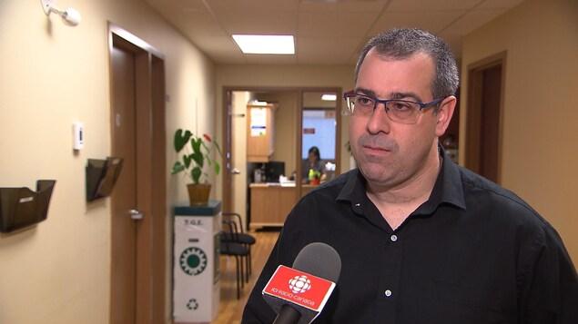 Nicolas Lapierre est le coordonnateur régional du syndicat des Métallos, pour la Côte-Nord et l'Est du Québec.