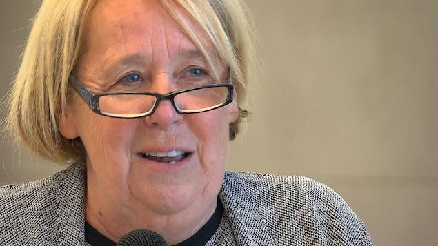 La nouvelle rectrice de l'Université du Québec à Chicoutimi, Nicole Bouchard