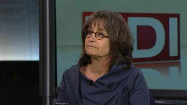 Nicole Filion, coordonnatrice de la Ligue des droits et libertés.