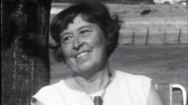 Nina Lavallée, la mère de l'écrivain Réjean Ducharme