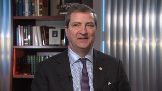 Le directeur général du Conseil canadien de la magistrature, Normand Sabourin