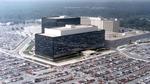 Le siège de la NSA à Fort Meade aux États-Unis