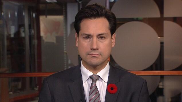 Olivier Marcil, vice-président des relations externes de Bombardier.