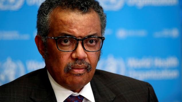 Le directeur général de l'Organisation mondiale de la santé Tedros Adhanom Ghebreyesus.