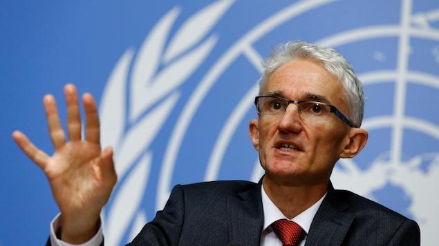 Mark Lowcock, secrétaire général aux Affaires humanitaires de l'ONU
