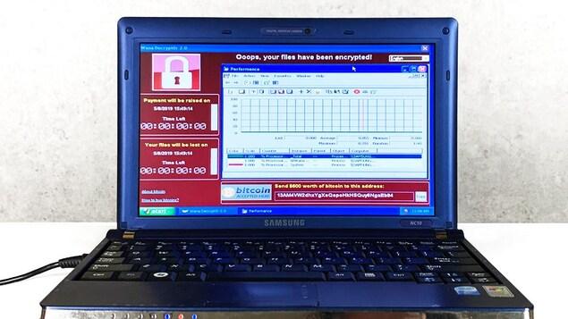 Photo de l'ordinateur à vendre aux enchères