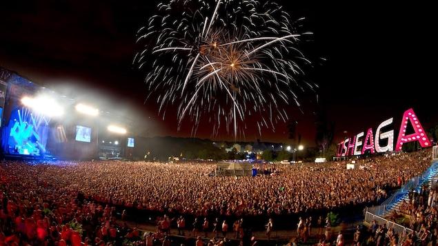 Le festival Osheaga