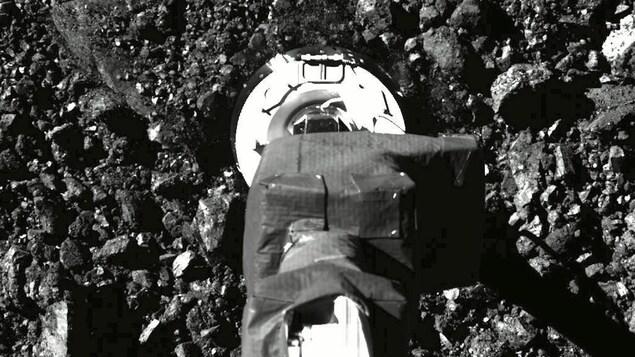 La sonde Osiris-Rex.