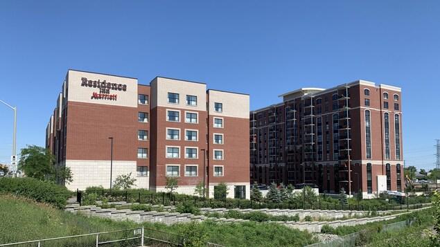 L'hôtel Residence Inn.