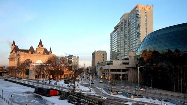 Le centre-ville d'Ottawa