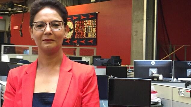 La présidente de la Fédération des francophones de la Colombie-Britannique, Padminee Chundunsing.