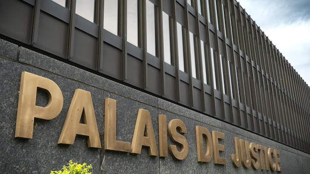 Palais de justice de Montréal.