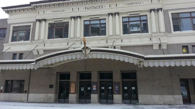 L'édifice du théâtre Pantages.