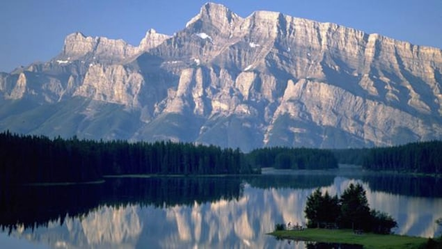Le parc national Banff en Alberta.