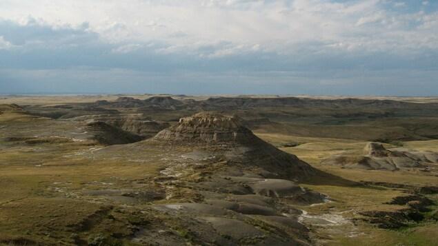 Photo du paysage bosselé du parc national.