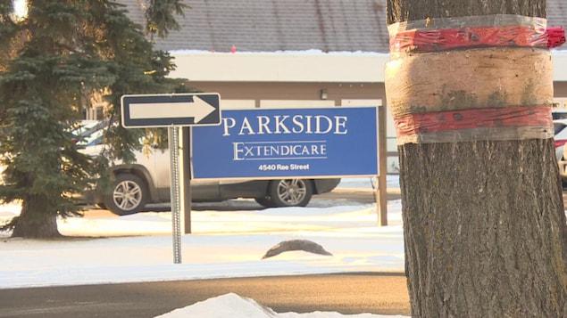 Extendicare Parkside est une entreprise privée, contrôlée à partir du 10 décembre dernier par l'Autorité de la Santé de la Saskatchewan