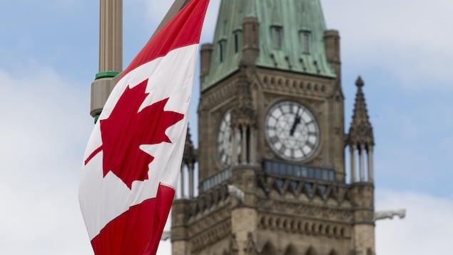 L'édifice du parlement, à Ottawa.