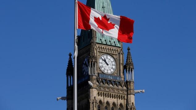 La tour de la Paix du parlement.