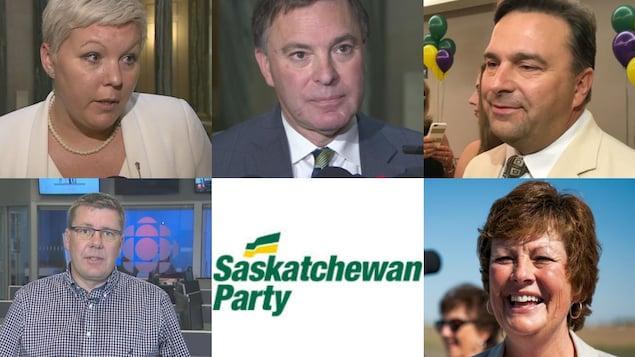Les candidats à la course à la direction du Parti saskatchewanais