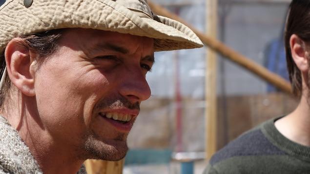 Pascal Bergeron du groupe Environnement vert plus