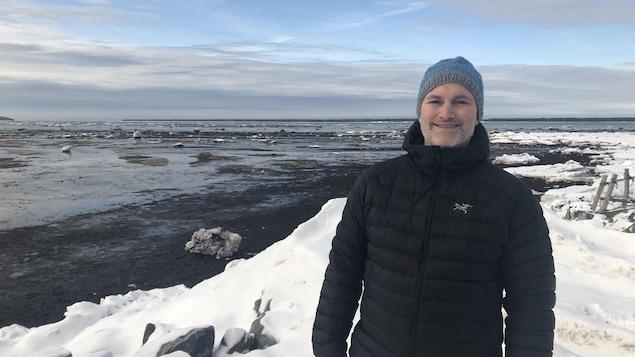 Pascal Bernatchez, titulaire de la Chaire de recherche en géoscience côtière de l'UQAR