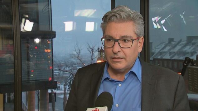Patrice Léger Bourgoin, directeur général de l'Association des brasseurs du Québec