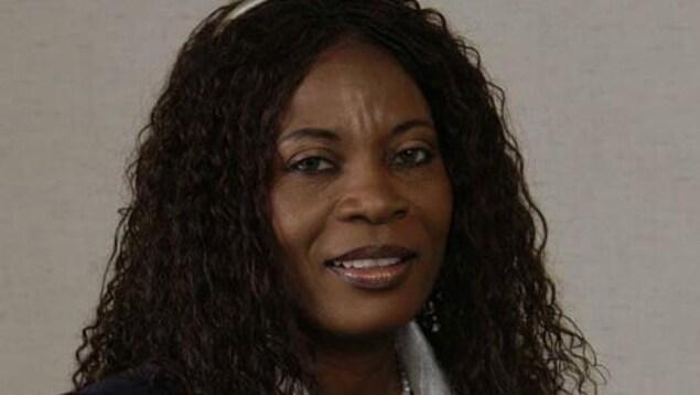 le portrait d'une femme noire