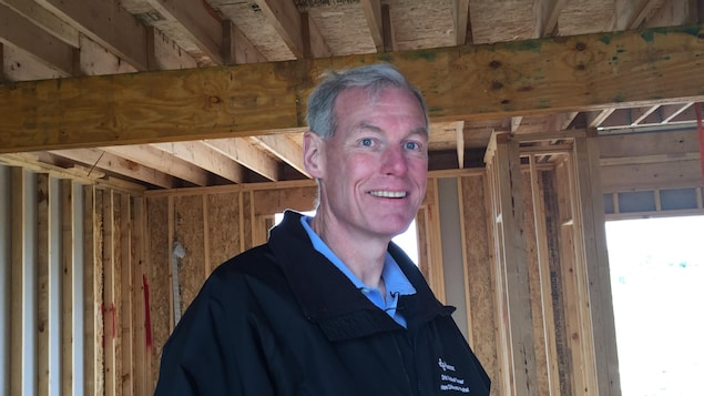 L'entrepreneur Patrick Curran de West Point Builders